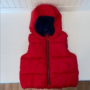 18-24 Months baby GAP Hooded Puffer Vest